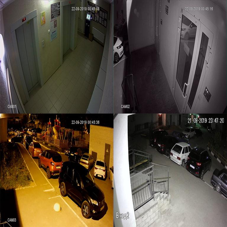 Видеонаблюдение в подъезд, установка видеонаблюдения Саратов