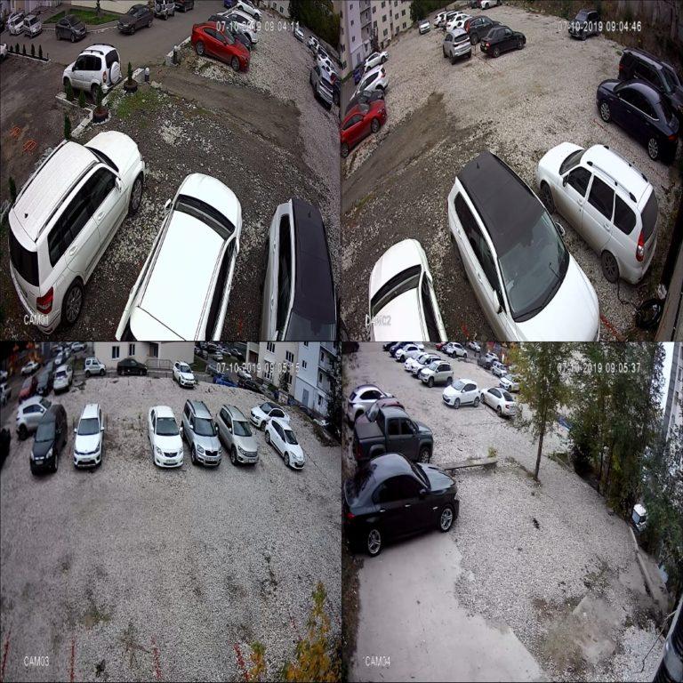 Видеонаблюдение в Саратове, видеонаблюдение на стоянке