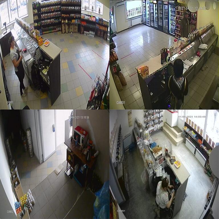 Камеры видеонаблюдения в магазин